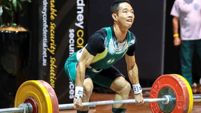 phil liao commonwealth games olympic weightlifter