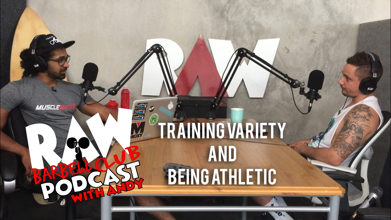 training variety podcast with yannick mifsud