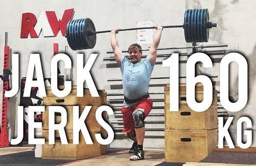 Jack Jerks 160kg – Training Diary