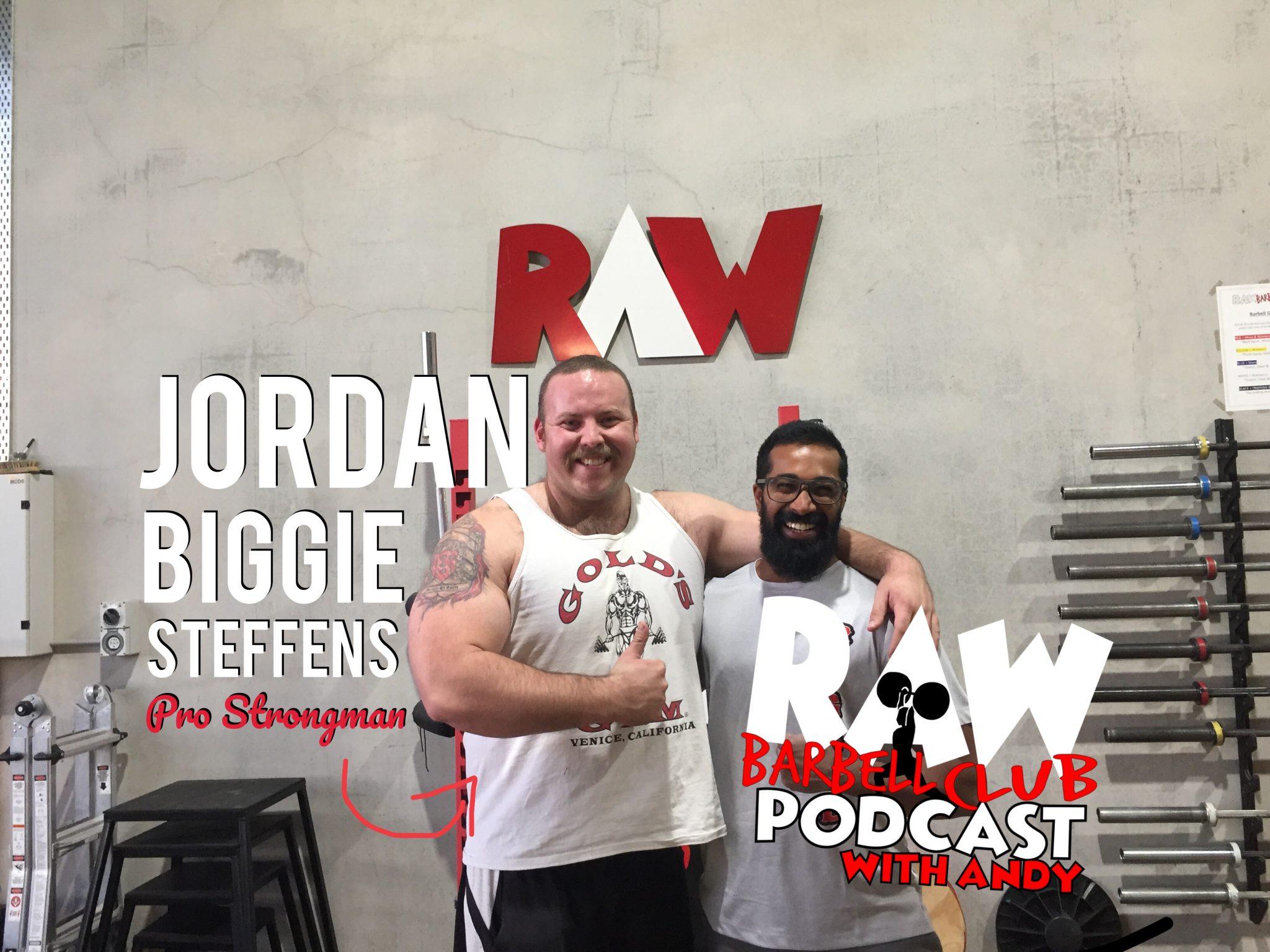 Jordan 'Biggie' Steffens : King of The Circus, Strongman & Weightlifting