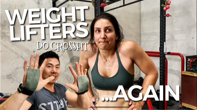 Weightlifters Do CrossFit Open Workout 20.2 and JP Quits